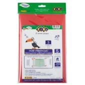 Набор обложек для учебников ZiBi 3 класс 250 мкм 5 шт. Kids Line тонированный Красный (ZB.4763)