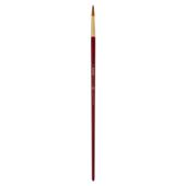 Кисть синтетика, Zibi Cherry 6971, круглая 10, длинная ручка, ART Line (ZB.6971SRD-10)